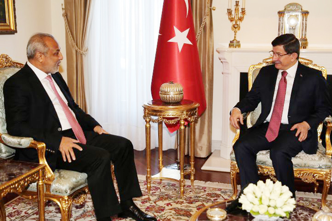Rauff Hakeem meets Prime Minister of Turkey