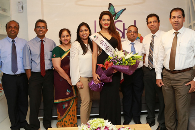 LUSH appoints Ms. Sri Lanka 2014 as Brand Ambassador