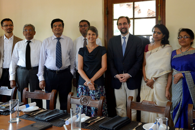 UN HR Chief meets officials of National HR Commission