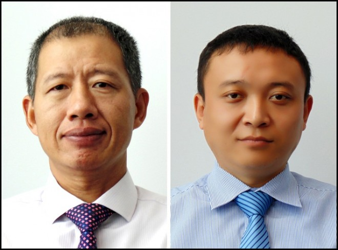 Mr Nelson Liu and Mr Ray Ren