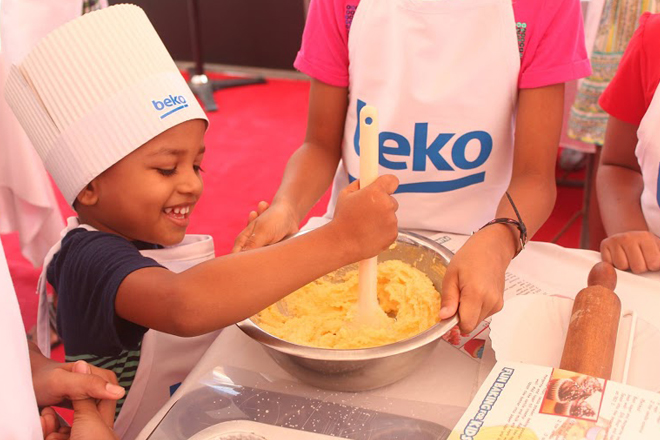 SINGER – BEKO bring fun for young baking enthusiasts