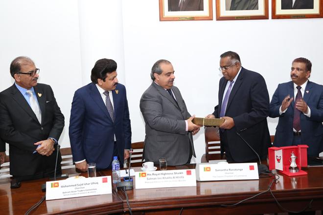Bahrain ready to engage with Sri Lanka: Shaikh Salman Bin Khalifa