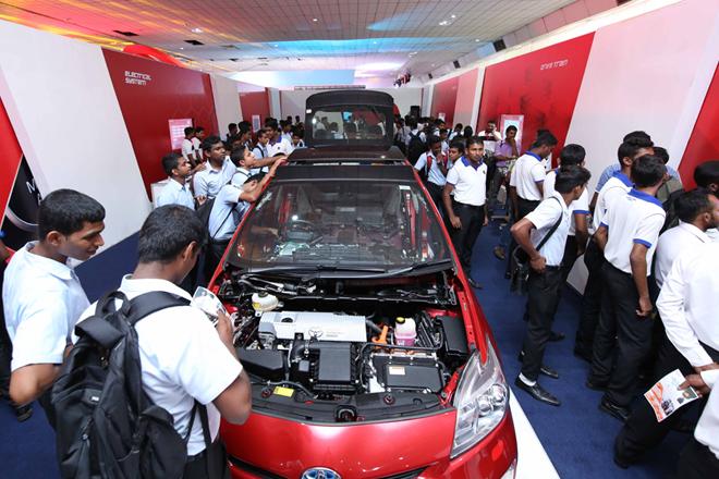 Toyota Lanka unveils future technology at 'Future World' exhibition