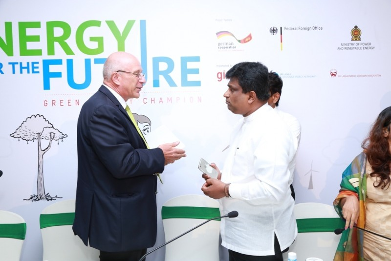 Sri Lanka launch Green Energy Champion Campaign