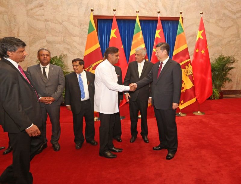 Three member committee to streamline Chinese projects in Sri Lanka