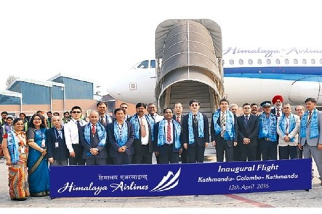 Nepali Himalaya Airlines commences flights to Sri Lanka