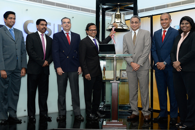 CSE, CFA rings opening bell to support 'Putting Investors First Month'