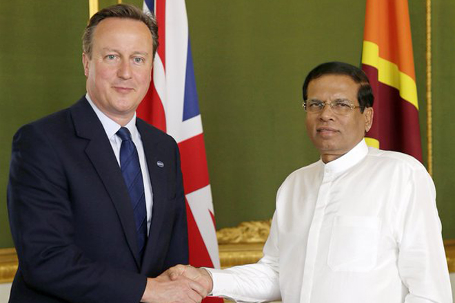 British PM & Foreign Secretary called on Sri Lanka's President