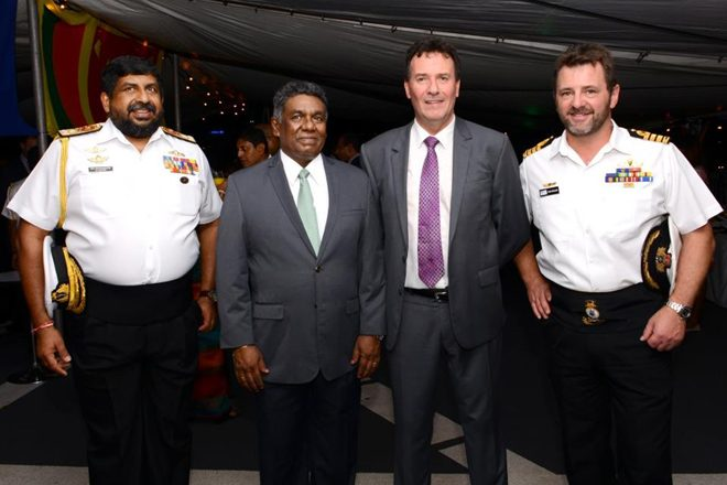 HMAS Perth makes goodwill visit to Colombo