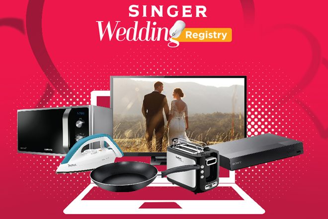 Singer launches first-ever online wedding registry