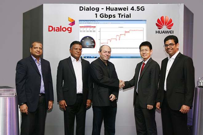 Sri Lanka's Dialog demonstrates internet speed of 1 Gbps