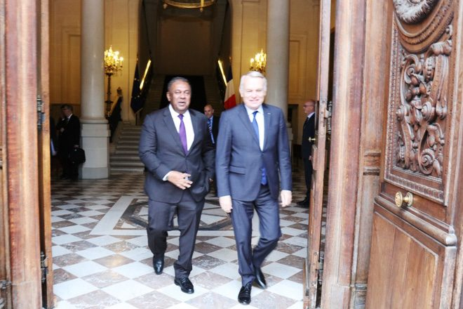 France Foreign Minister reaffirms support for Sri Lanka's GSP +