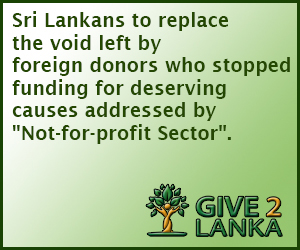 Give2Sri Lanka