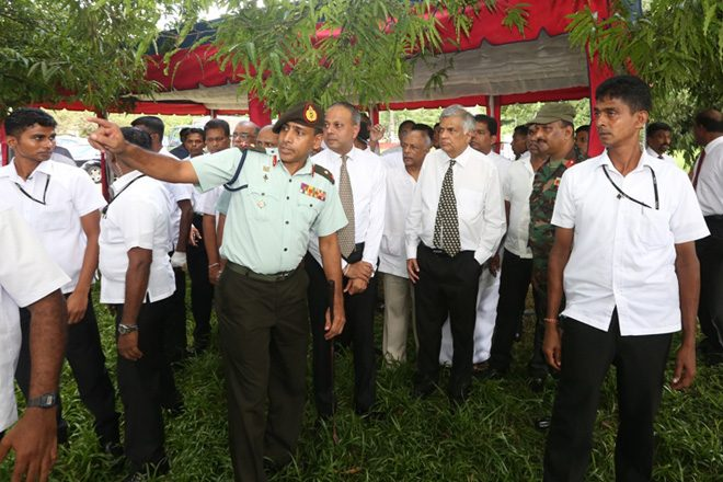 Prime Minister visits Salawa Army camp area