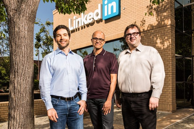 Microsoft buys LinkedIn for a cool $26.2 billion