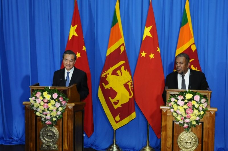 Statement by Foreign Minister Mangala Samaraweera following bilateral talks with Chinese counterpart