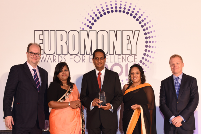 NDBIB wins 'Sri Lanka's Best Investment Bank2016' by Euromoney