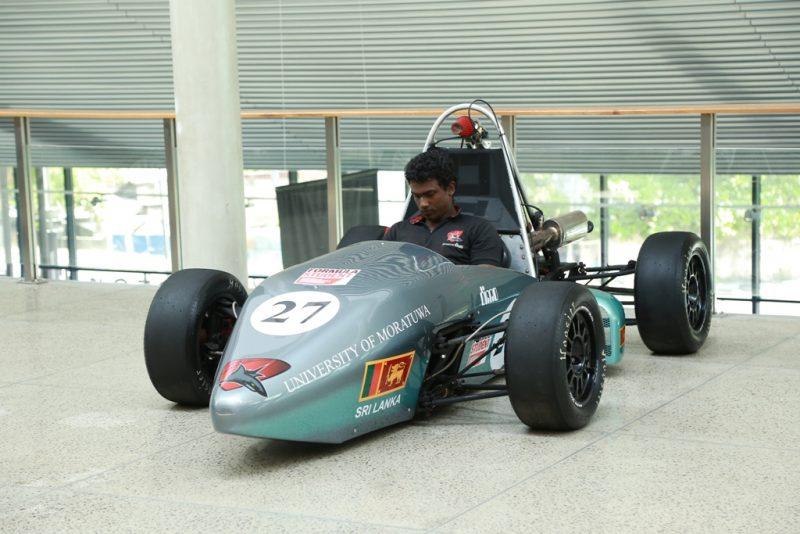 Sri Lanka's DIMO, Uni of Moratuwa unveils formula student race car