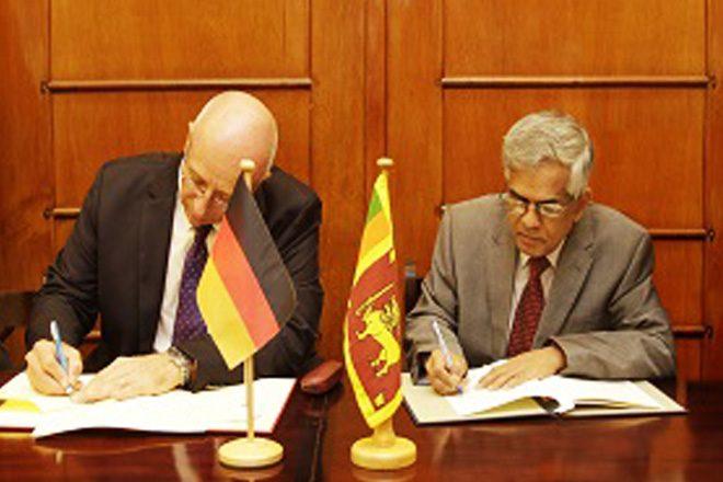 Germany grants EUR13mn for Sri Lanka development projects