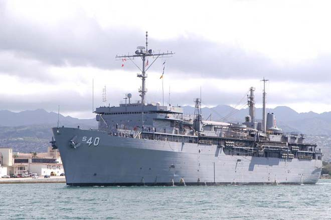 USS Frank Cable Arrives in Sri Lanka today