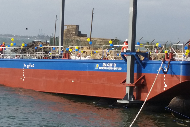 Walkers Colombo shipyard builds & launches first vessel