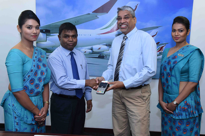 SriLankan launch real-time card transactions for on-board duty free purchases