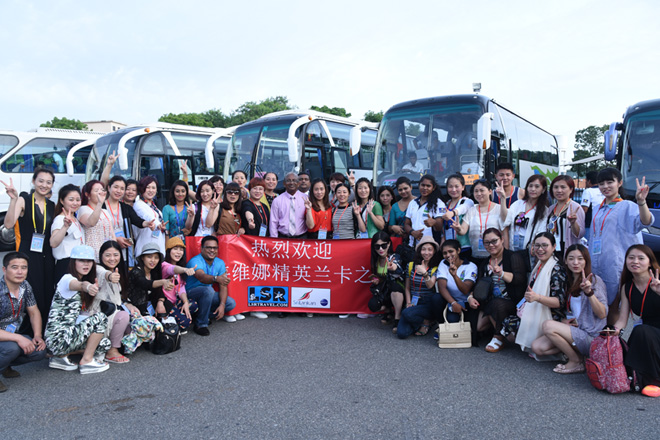 Largest Chinese incentive group visits Sri Lanka