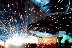 industrial production welding economy