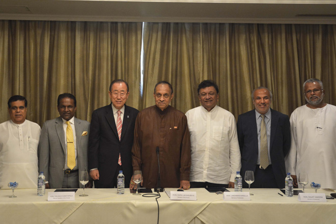 UNSG meets President, Speaker of Parliament and political party leaders