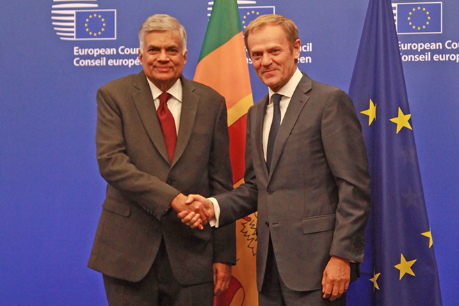 European Council President pledges to support Sri Lanka GSP+