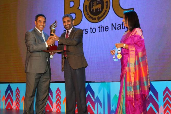 Saaraketha wins gold at NCE Export Awards 2016