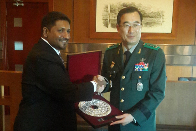 South Korea, Sri Lanka seeks strengthening national defence coop.