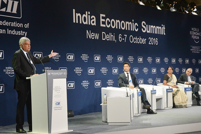 Sri Lanka to sign ETCA by end 2016: PM at India Economic Summit