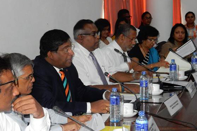 Finance Minister obtains proposals for budget from Ceylon Chamber