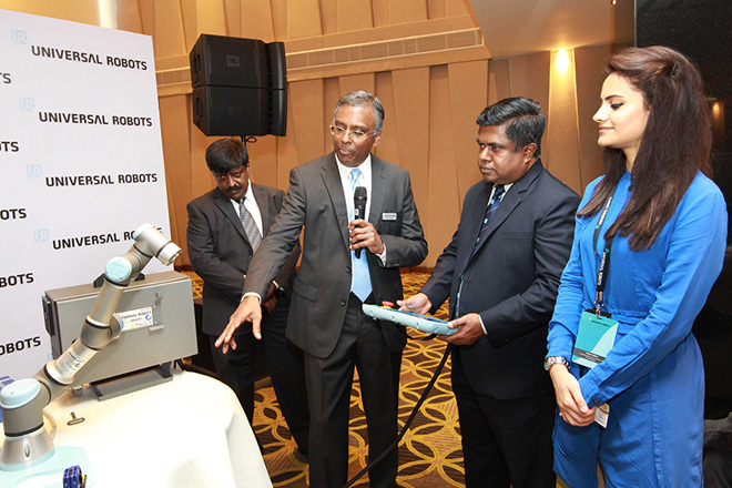 Universal Robots Denmark launches first collaborative robot in Sri Lanka