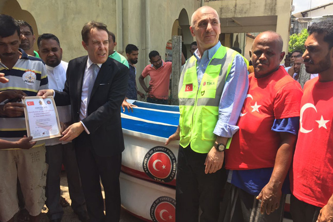 Turkey extends assistance to Sri Lankan fishermen and farmers