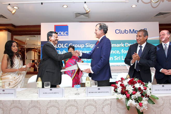 LOLC Group inks deal with Club Mediterranee for Sri Lanka's first Club Med Resort