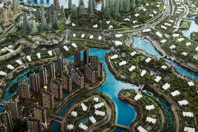 Chinese-made city near Singapore to reshape real estate