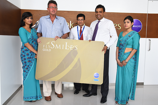 SriLankan Airlines surprises a loyal passenger with Gold Card