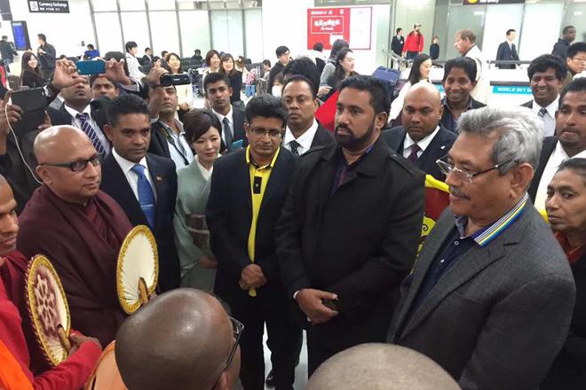 Former Defence Secretary Gotabhaya Rajapaksa visits Japan