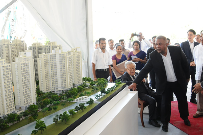 Foreign Minister attends groundbreaking ceremony of Havelock City Project