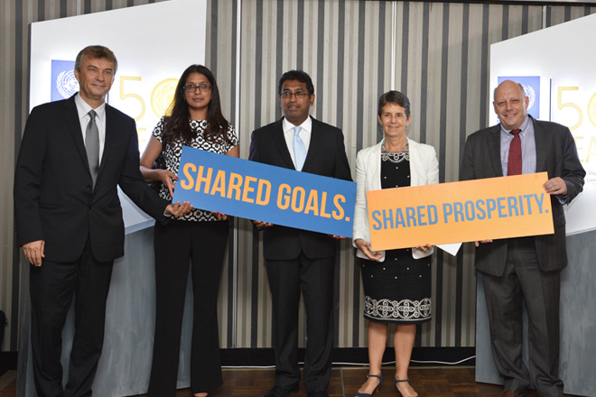 UNDP launches year-long campaign to mark its 50 Year journey in Sri Lanka