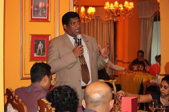 Sri Lanka's business leaders meet Finance Minister Ravi Karunanayake