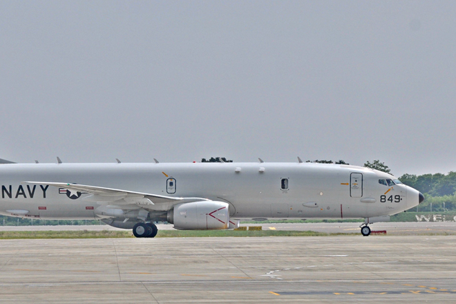 Advanced US maritime patrol aircraft visits Sri Lanka