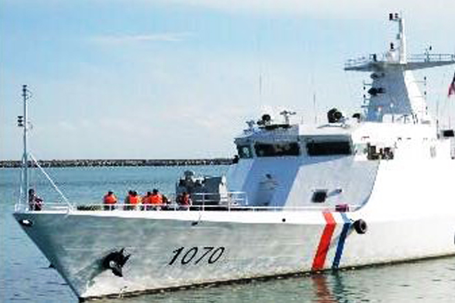 Pakistan maritime security ships in Sri Lanka on a goodwill visit