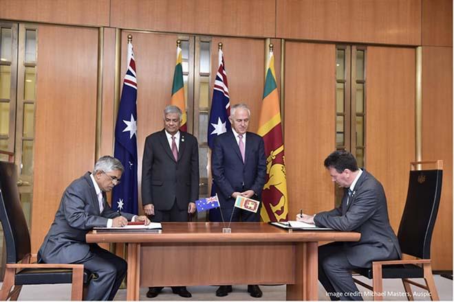 Australia and Sri Lanka sign new partnership agreement