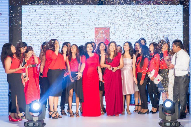 British Cosmetics celebrates student graduation with gala fashion