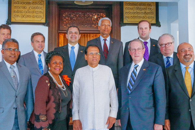 US congressional delegation reaffirms bipartisan support for Sri Lanka