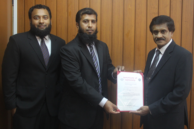 Halal Accreditation Council gets ISO certification from SLSI