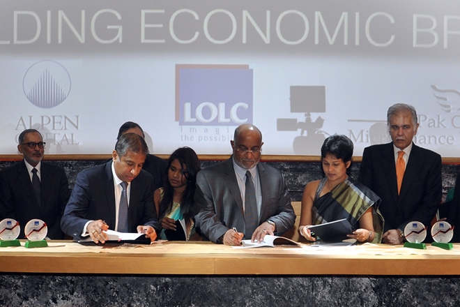 LOLC microfinance model ventures into Pakistan